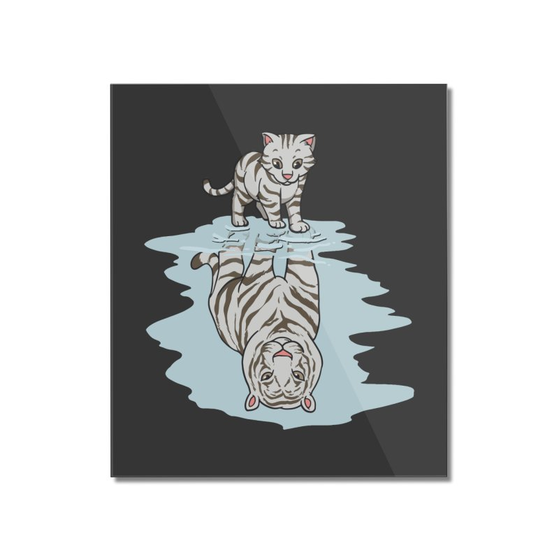 Wild Life Home Decor Mounted Acrylic Print by Saucy Robot