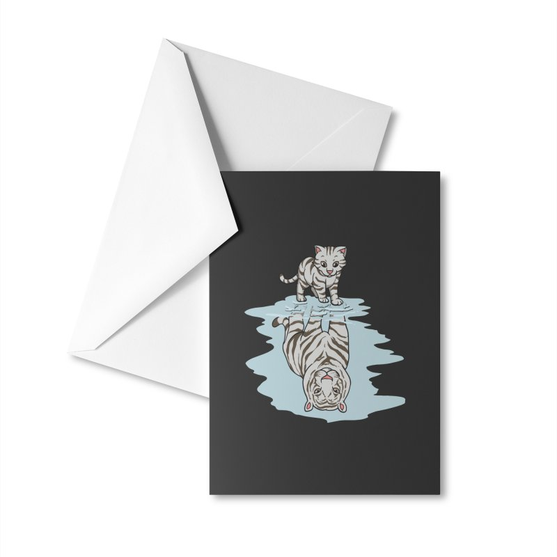 Wild Life Accessories Greeting Card by Saucy Robot