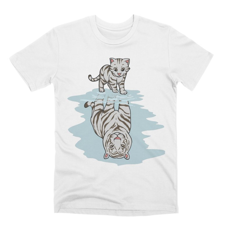 Wild Life Men's T-Shirt by Saucy Robot