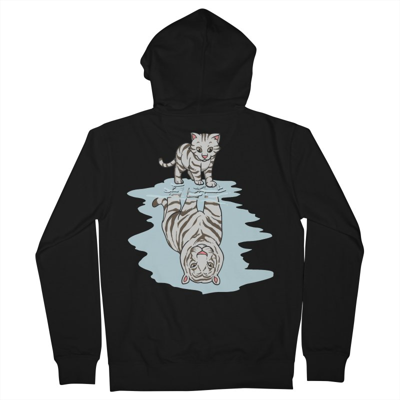 Wild Life Men's Zip-Up Hoody by Saucy Robot