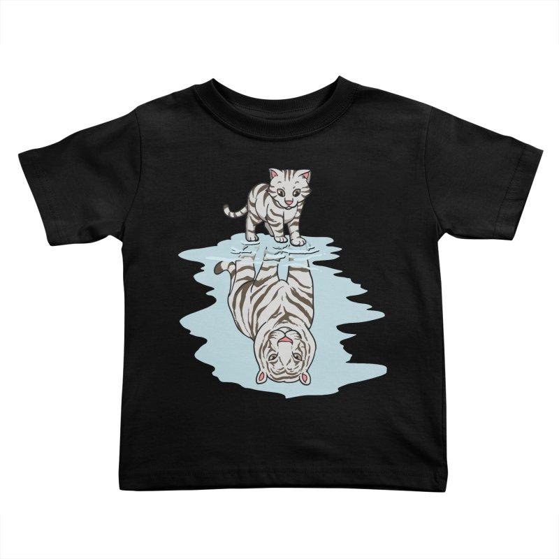 Wild Life Kids Toddler T-Shirt by Saucy Robot