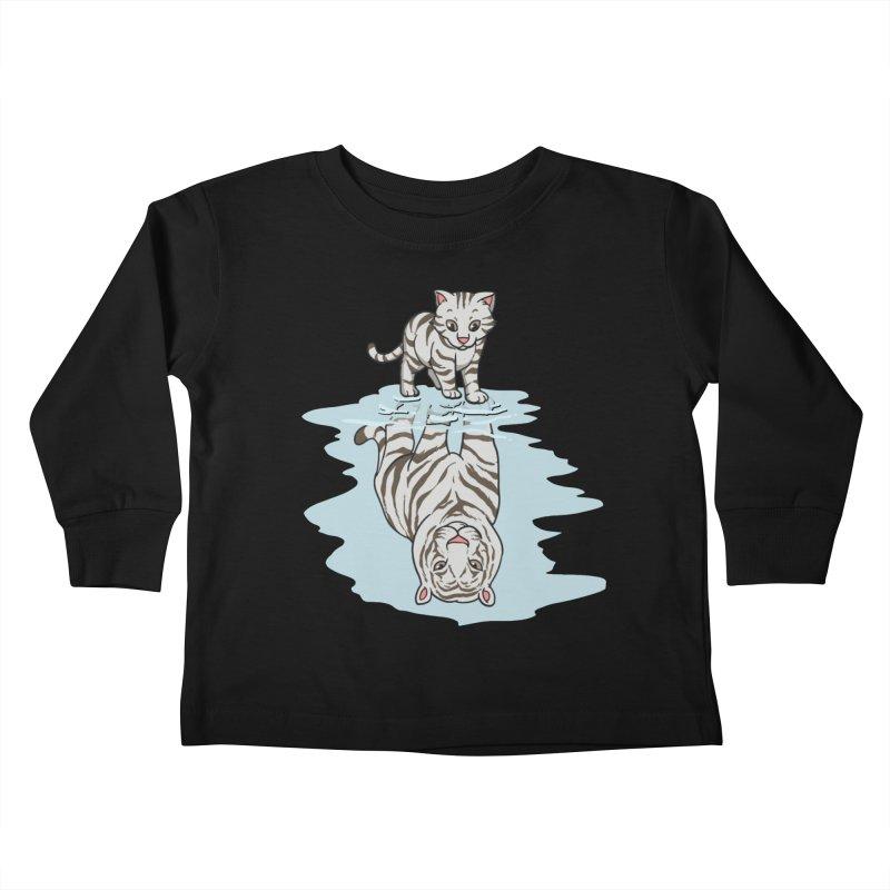 Wild Life Kids Toddler Longsleeve T-Shirt by Saucy Robot