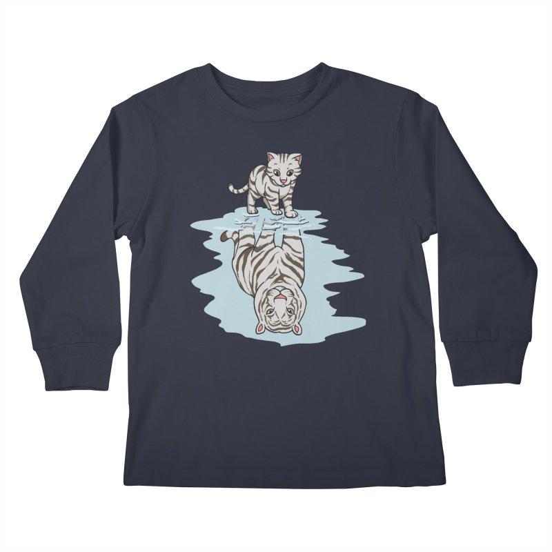 Wild Life Kids Longsleeve T-Shirt by Saucy Robot