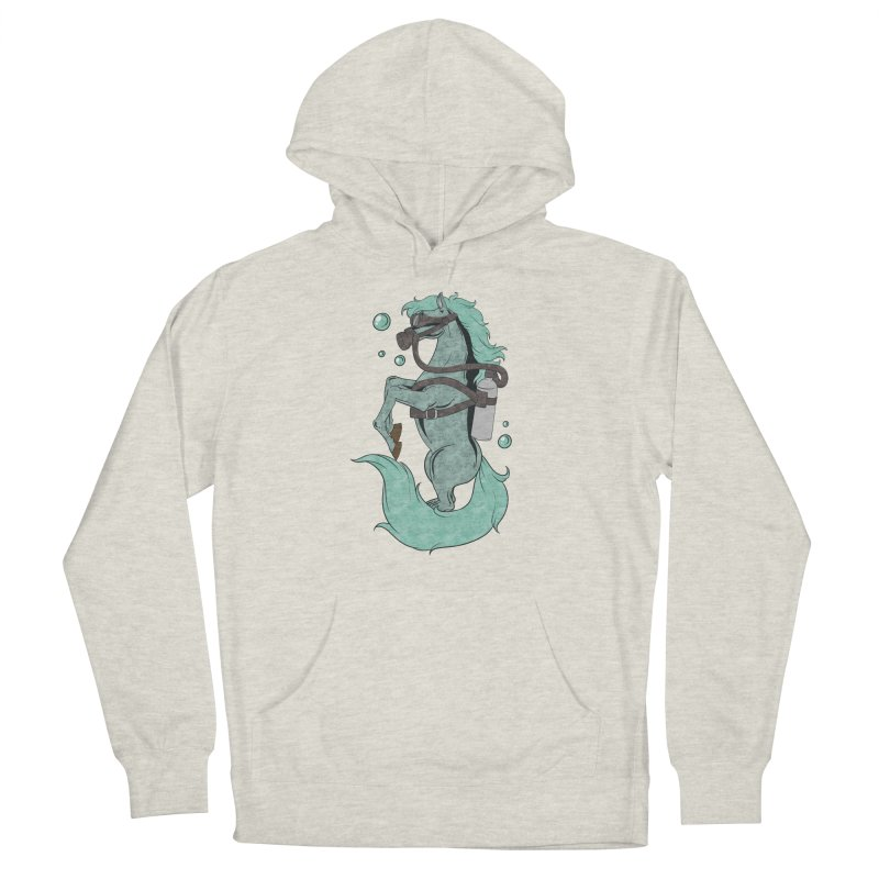Sea Horse Women's Pullover Hoody by Saucy Robot