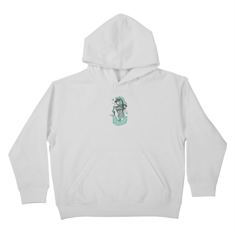 Sea Horse Kids Pullover Hoody by Saucy Robot