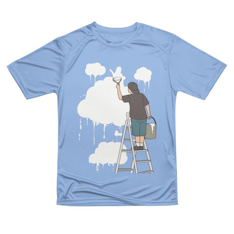 Cloud Painter Men's T-Shirt by Saucy Robot