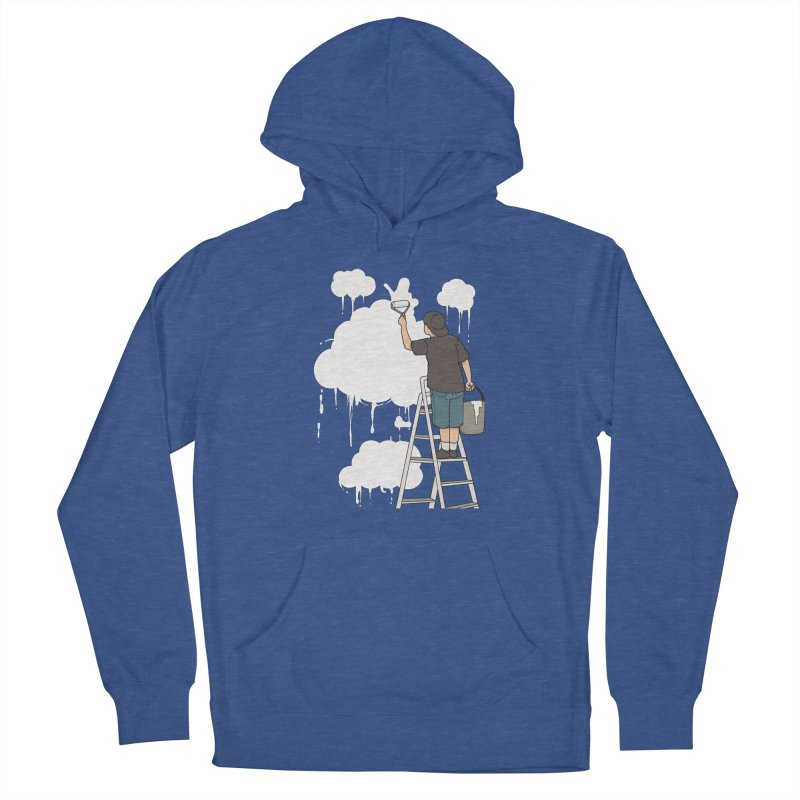 Cloud Painter Men's Pullover Hoody by Saucy Robot