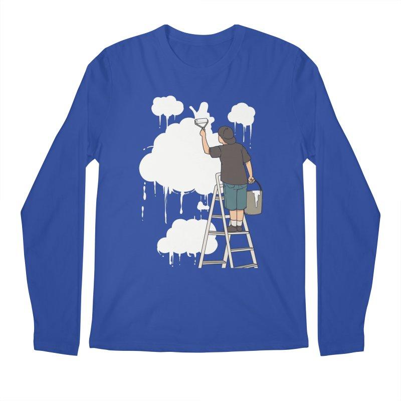 Cloud Painter Men's Longsleeve T-Shirt by Saucy Robot