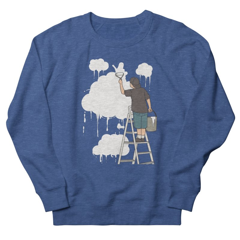 Cloud Painter Men's Sweatshirt by Saucy Robot