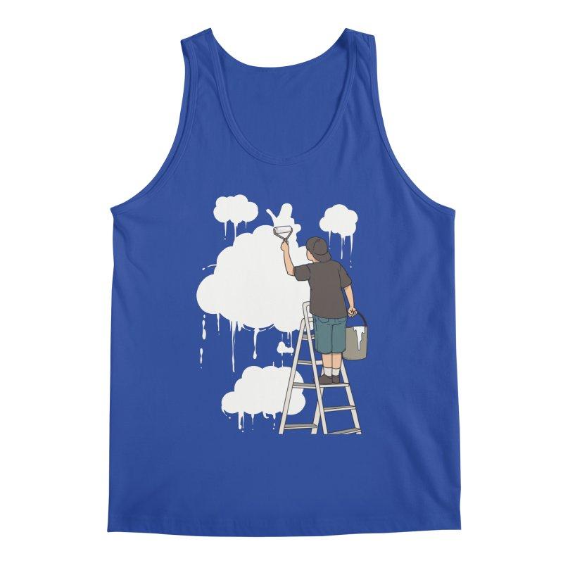 Cloud Painter Men's Tank by Saucy Robot