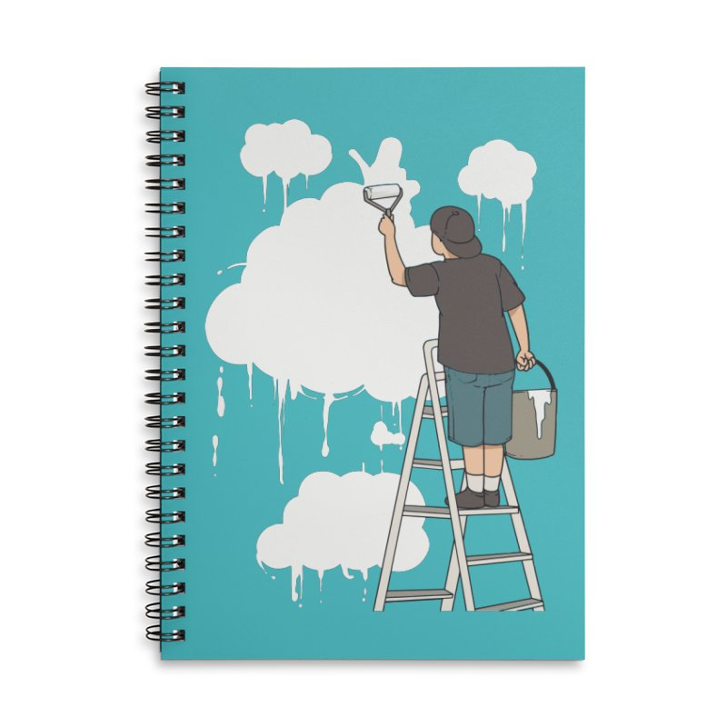 Cloud Painter Accessories Notebook by Saucy Robot