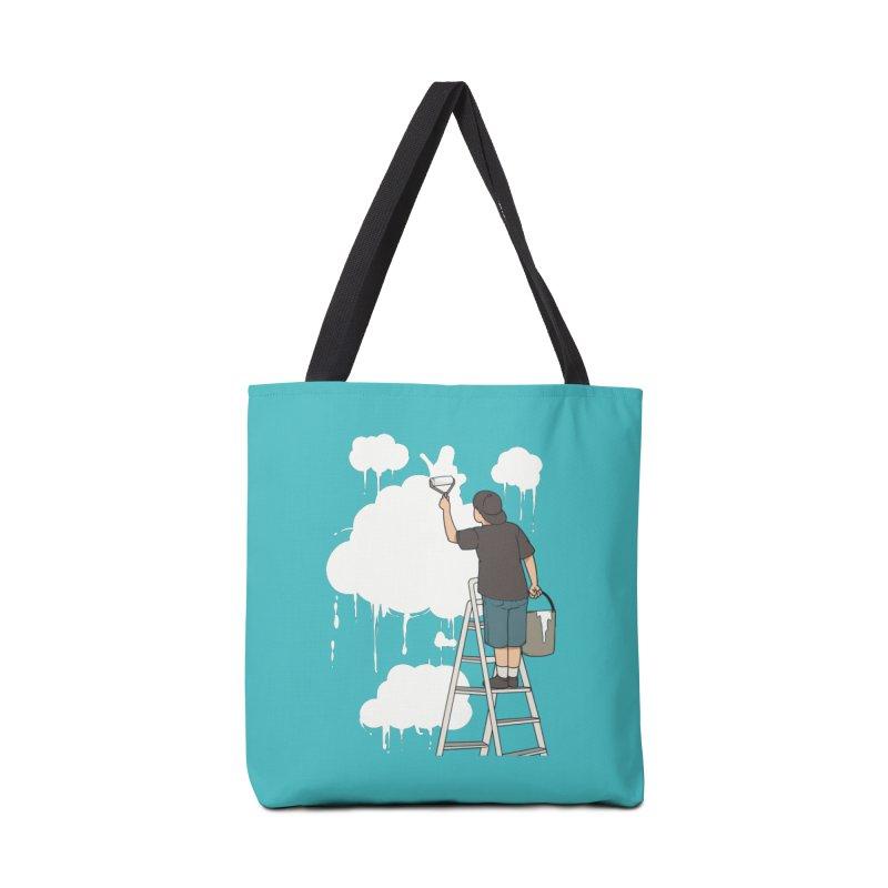 Cloud Painter Accessories Bag by Saucy Robot