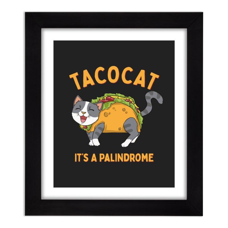 Tacocat Home Decor Framed Fine Art Print by Saucy Robot
