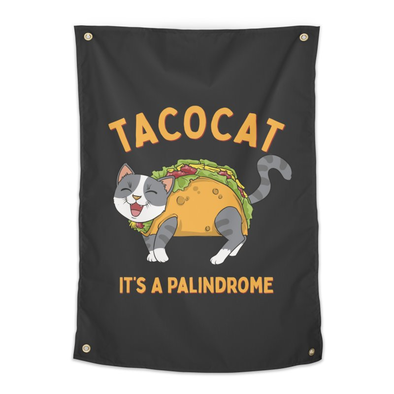 Tacocat Home Decor Tapestry by Saucy Robot