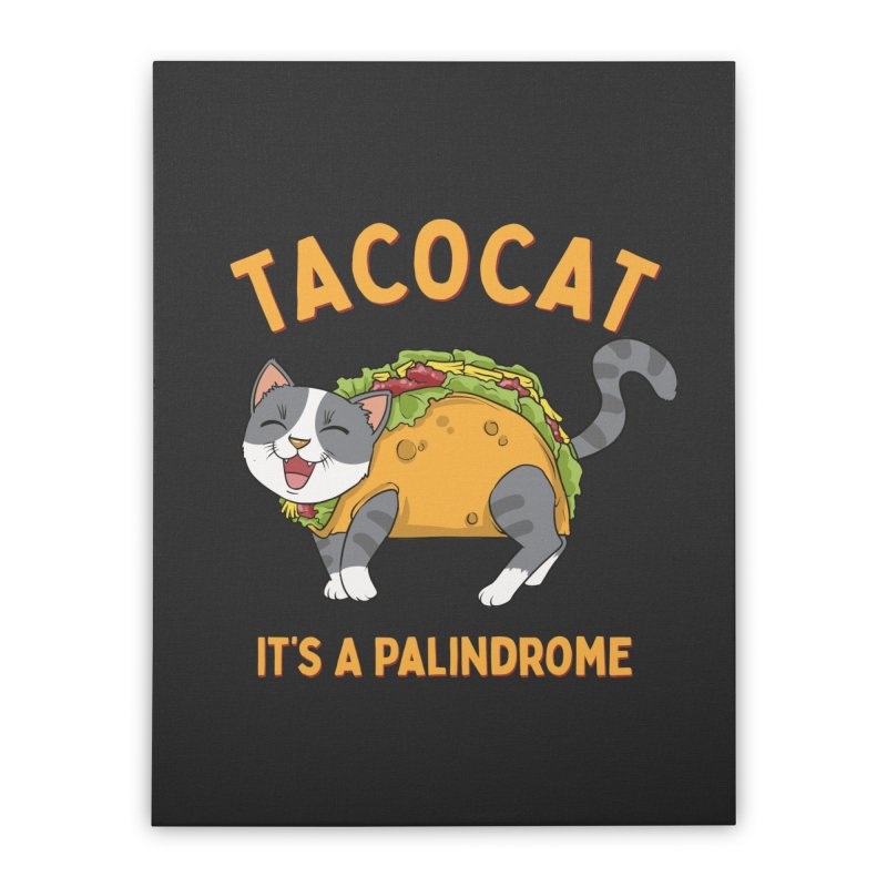 Tacocat Home Decor Stretched Canvas by Saucy Robot