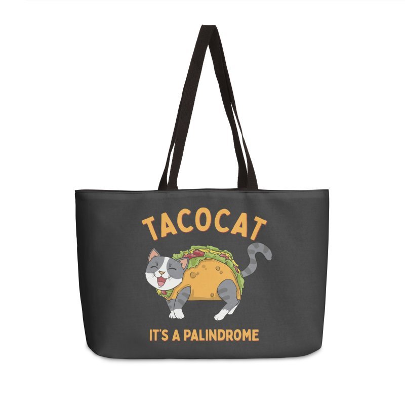 Tacocat Accessories Bag by Saucy Robot