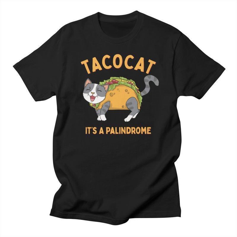 Tacocat Men's T-Shirt by Saucy Robot