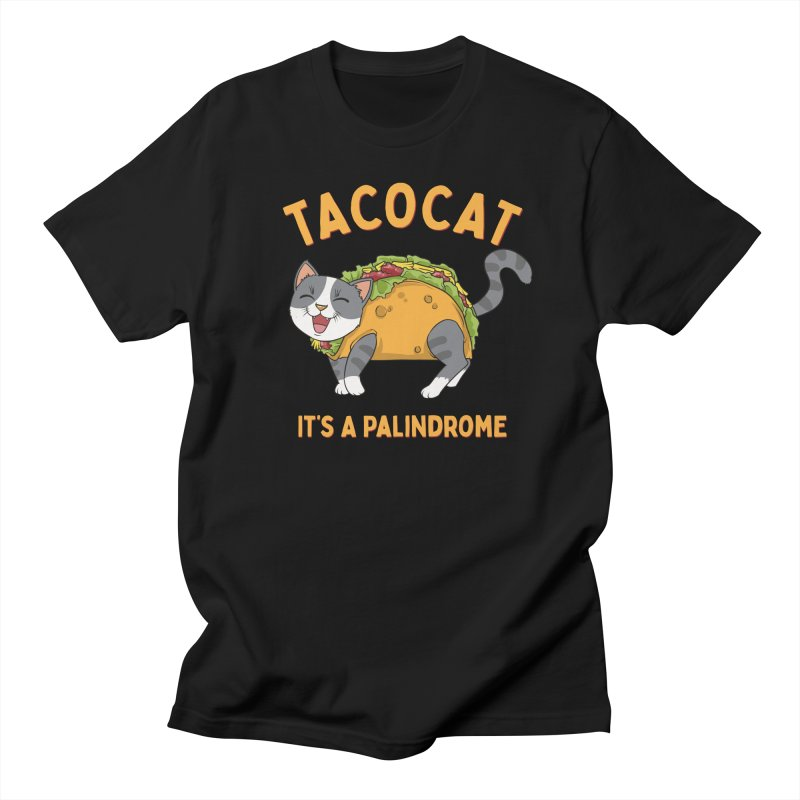 Tacocat Men's T-Shirt by Saucy Robot