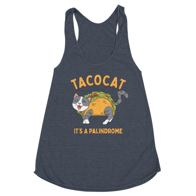 Tacocat Women's Tank by Saucy Robot