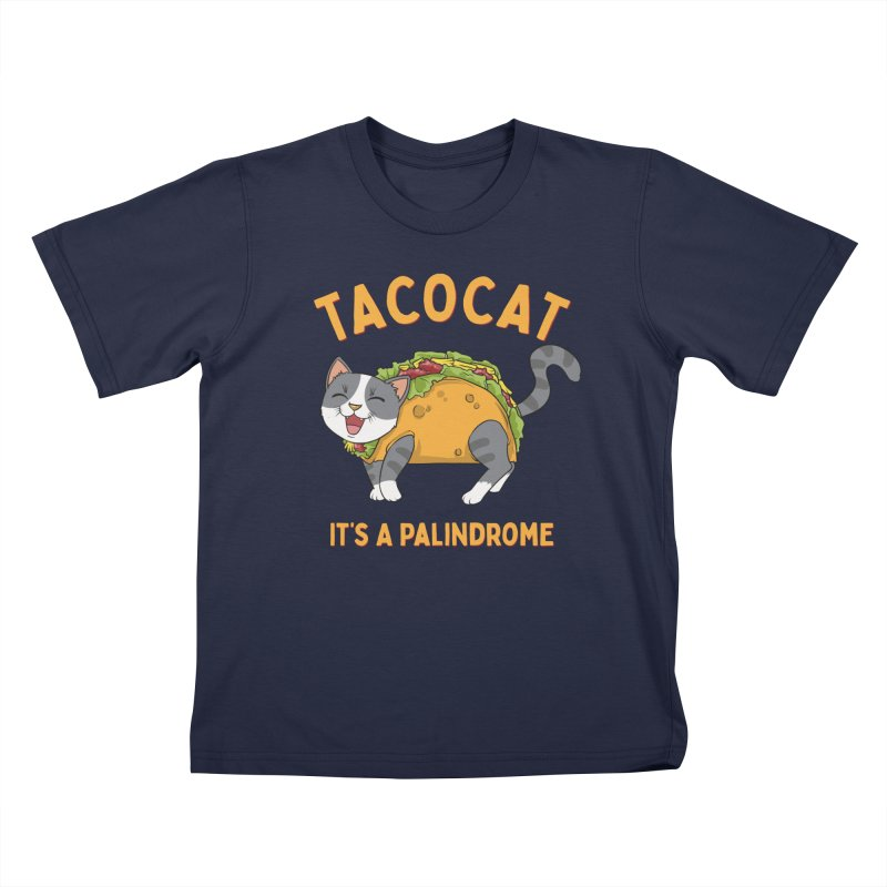 Tacocat Kids T-Shirt by Saucy Robot
