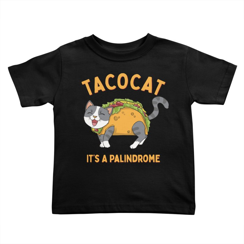 Tacocat Kids Toddler T-Shirt by Saucy Robot