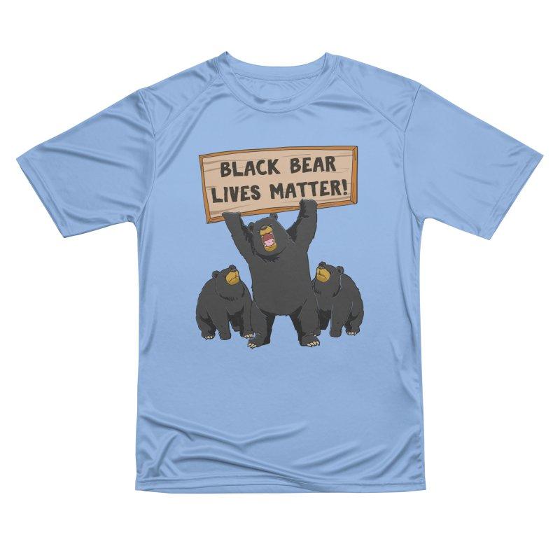 Black Bear Lives Matter Men's T-Shirt by Saucy Robot