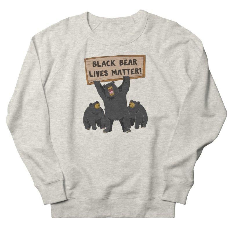 Black Bear Lives Matter Men's Sweatshirt by Saucy Robot