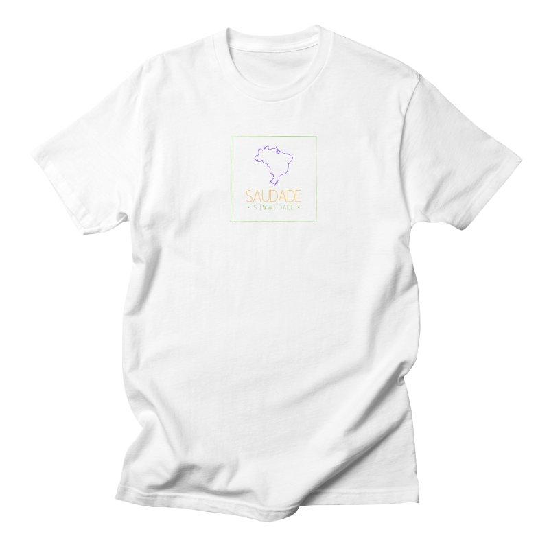 Saudade Magazine - COLOR logo Men's T-Shirt by saudademagazine's Artist Shop