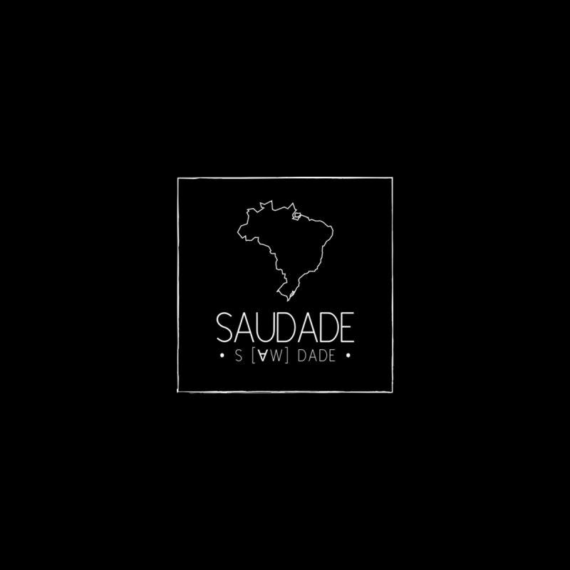 Saudade Magazine - WHITE logo Men's T-Shirt by saudademagazine's Artist Shop