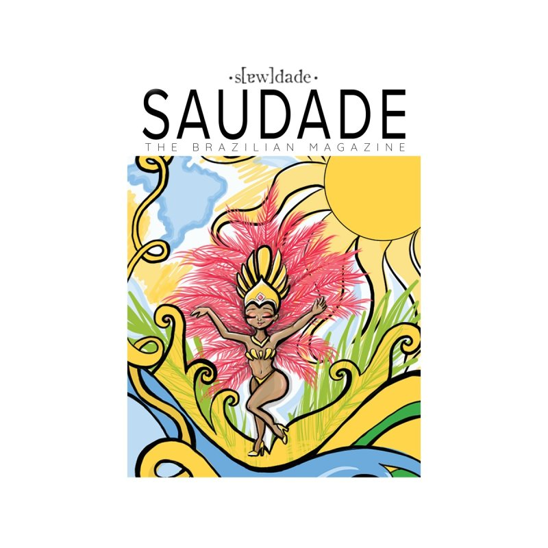 Saudade Magazine First Edition Cover Art - February 2020 Men's T-Shirt by saudademagazine's Artist Shop