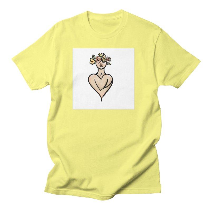 SELF LOVE [COLOR] Men's T-Shirt by saudademagazine's Artist Shop