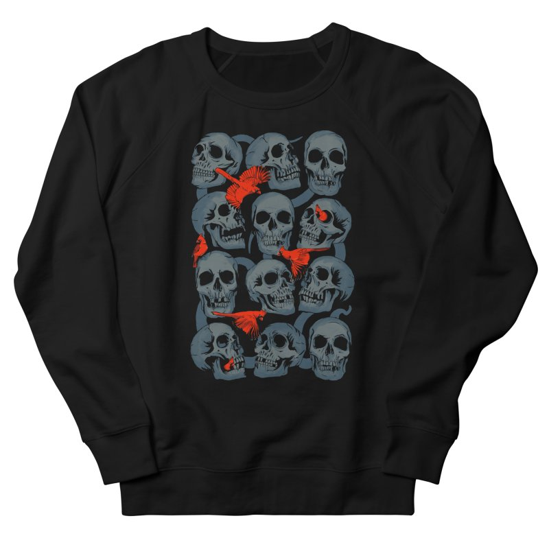 Skulls and Cardinals   by Saulo Alonso's Artist Shop