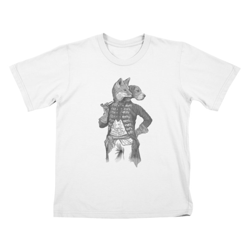 Living Together Kids T-shirt by Saulo Alonso's Artist Shop