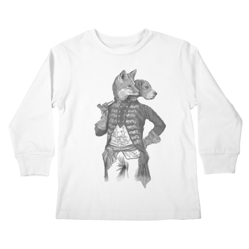 Living Together Kids Longsleeve T-Shirt by Saulo Alonso's Artist Shop