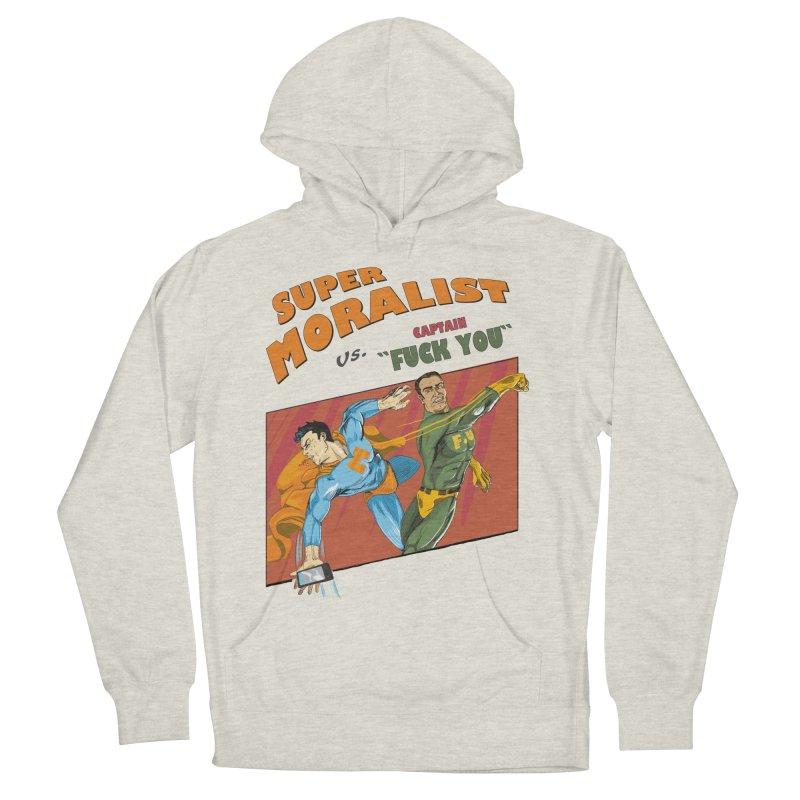 F.U. Men's Pullover Hoody by Saulo Alonso's Artist Shop
