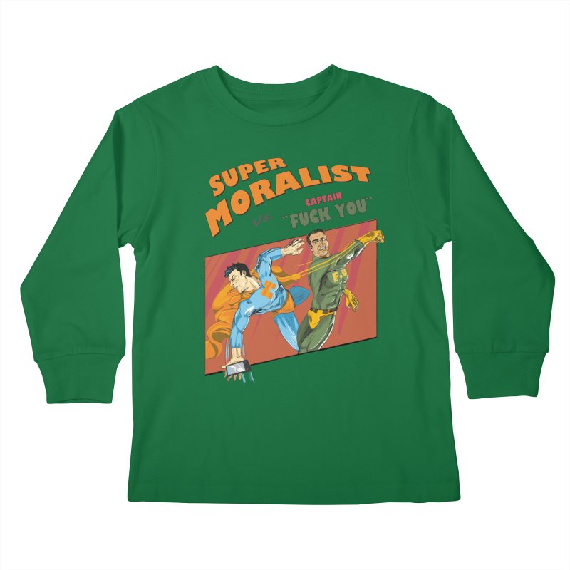 F.U. Kids Longsleeve T-Shirt by Saulo Alonso's Artist Shop