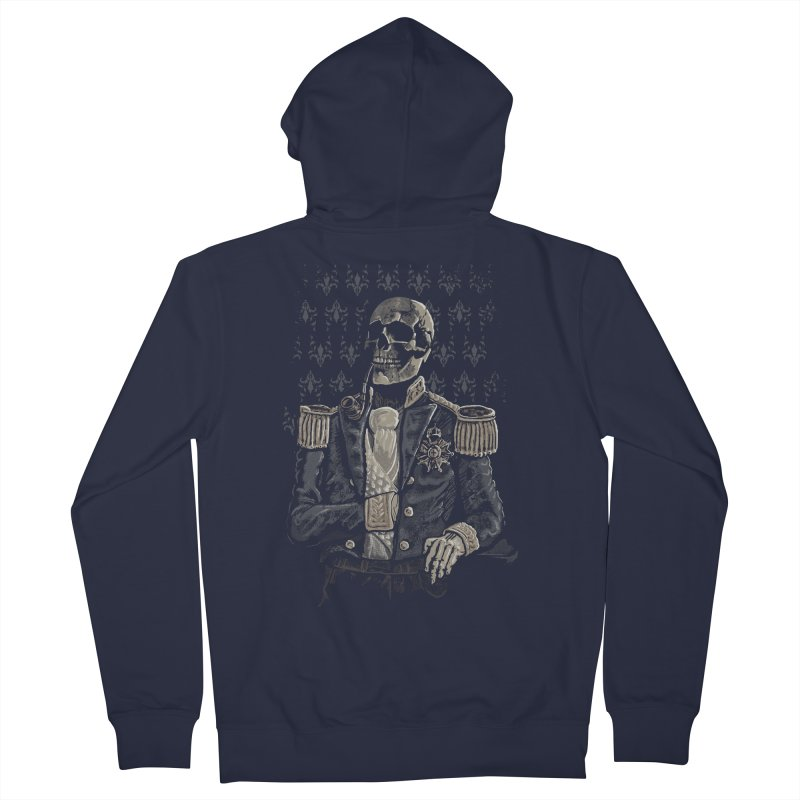 Imperial Style Women's Zip-Up Hoody by Saulo Alonso's Artist Shop