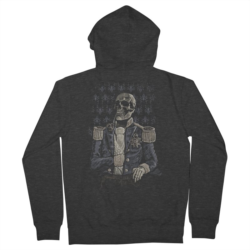 Imperial Style Men's Zip-Up Hoody by Saulo Alonso's Artist Shop