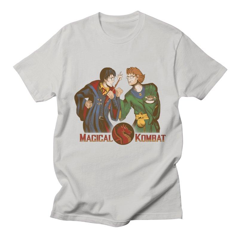 Magical Kombat Men's T-shirt by Saulo Alonso's Artist Shop