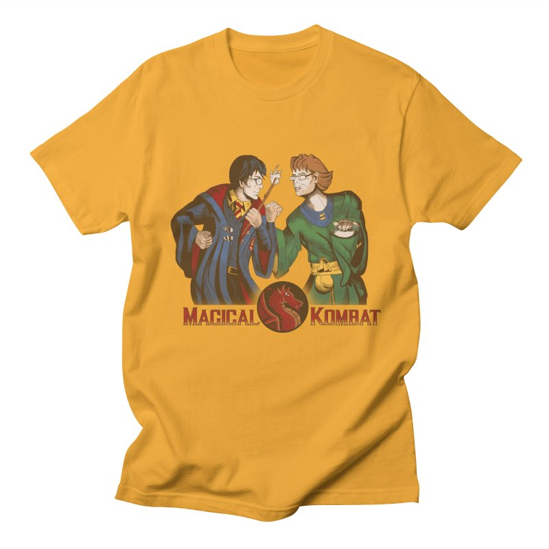Magical Kombat Men's T-shirt by Saulo Alonso's Artist Shop