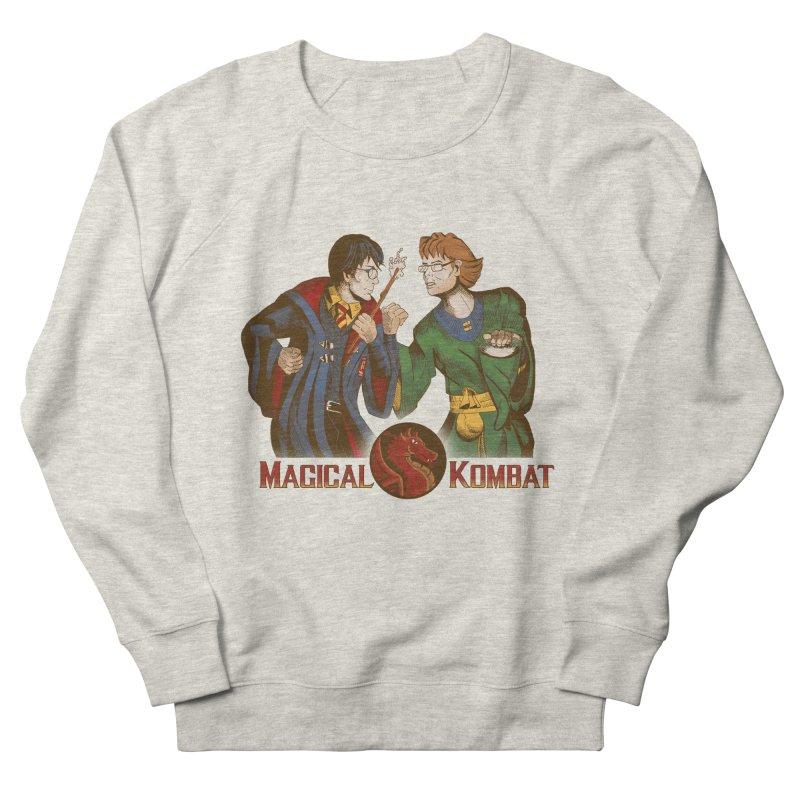 Magical Kombat Men's Sweatshirt by Saulo Alonso's Artist Shop