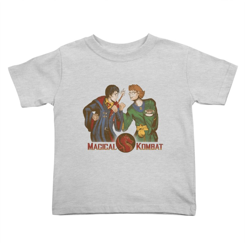 Magical Kombat Kids Toddler T-Shirt by Saulo Alonso's Artist Shop