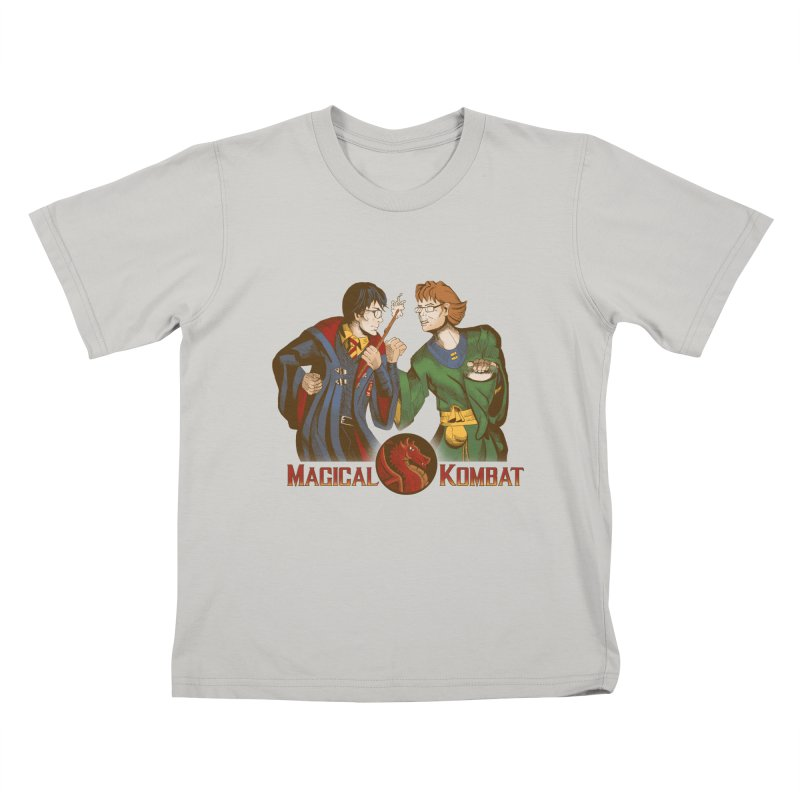 Magical Kombat Kids T-shirt by Saulo Alonso's Artist Shop
