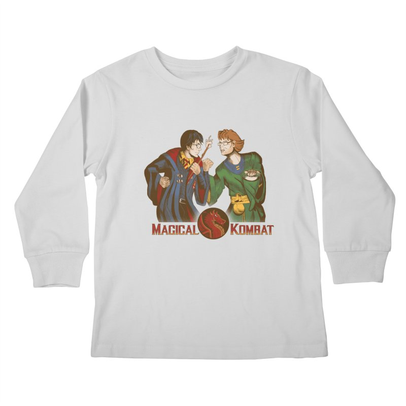 Magical Kombat Kids Longsleeve T-Shirt by Saulo Alonso's Artist Shop