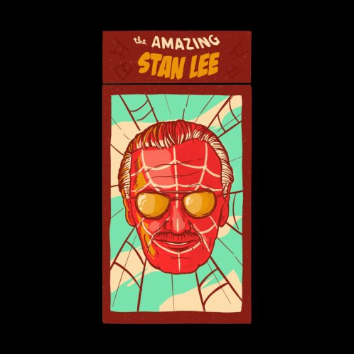 Design for The Amazing Stan Lee