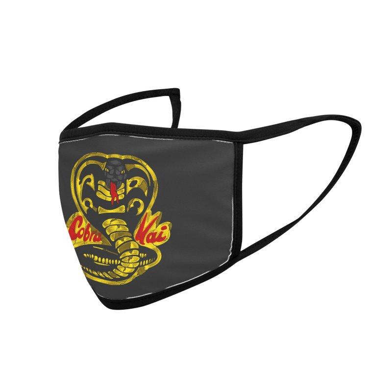Cobra Kai Accessories Face Mask by sausagekingofchicago's Artist Shop