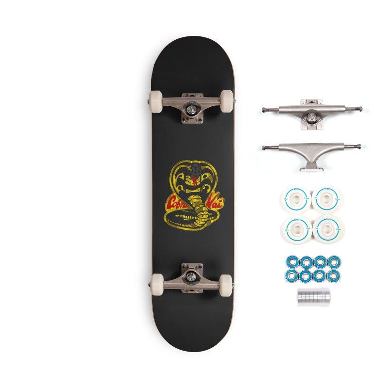 Cobra Kai Accessories Skateboard by sausagekingofchicago's Artist Shop