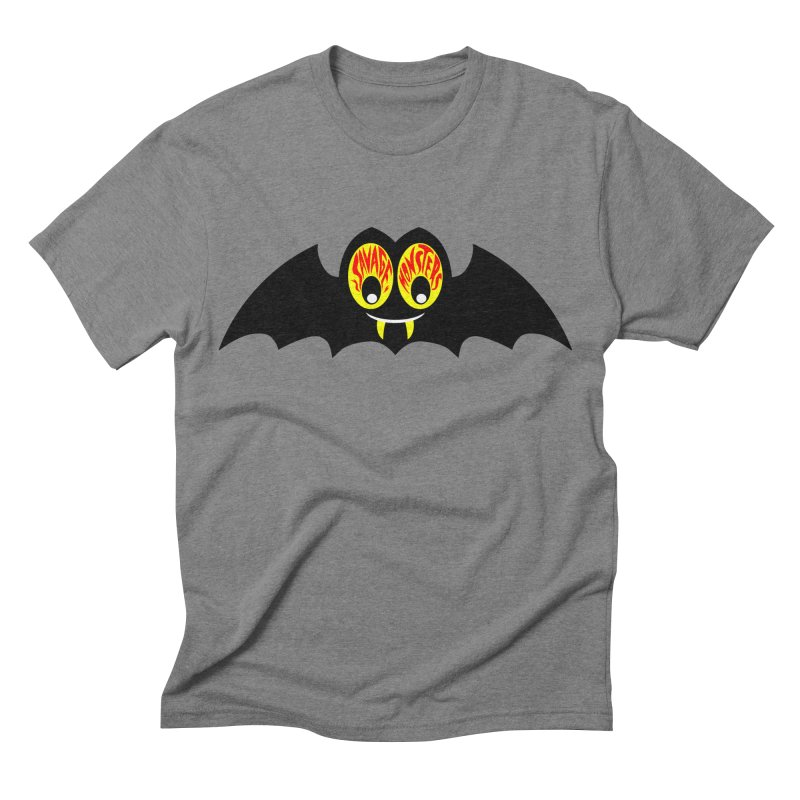 Savage Monsters Sky Spy Men's Triblend T-shirt by SavageMonsters's Artist Shop