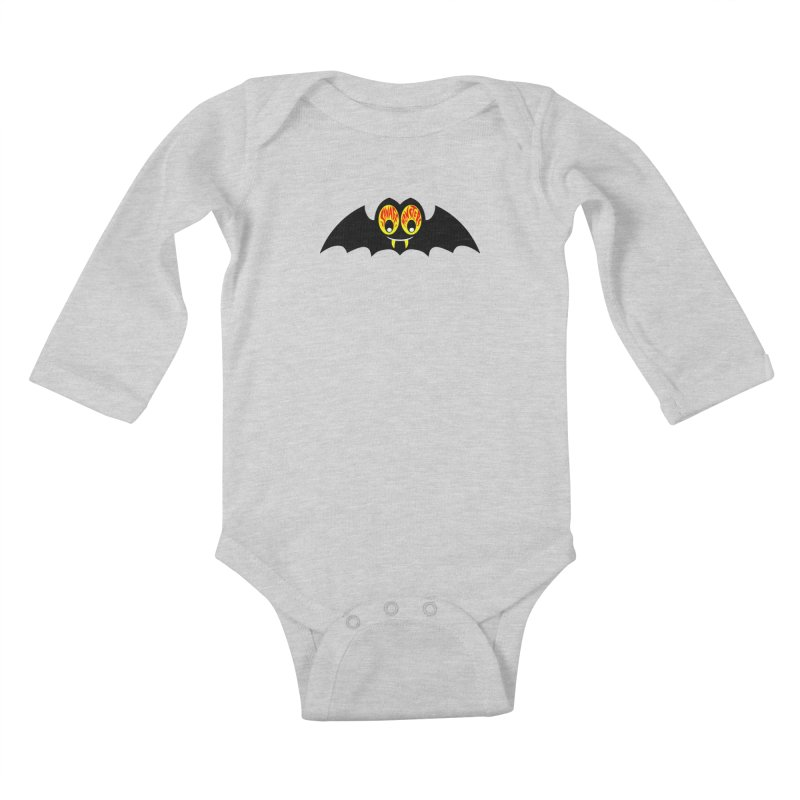 Savage Monsters Sky Spy Kids Baby Longsleeve Bodysuit by SavageMonsters's Artist Shop