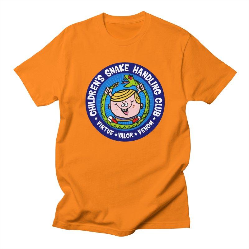 Children's Snake Handling Club Women's Unisex T-Shirt by SavageMonsters's Artist Shop